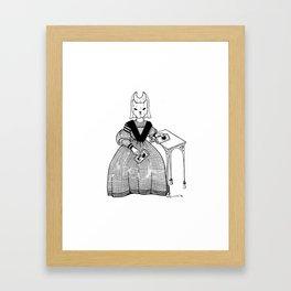 Fortune teller Framed Art Print