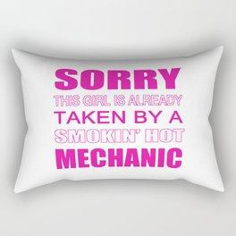 Taken By A Mechanic Rectangular Pillow