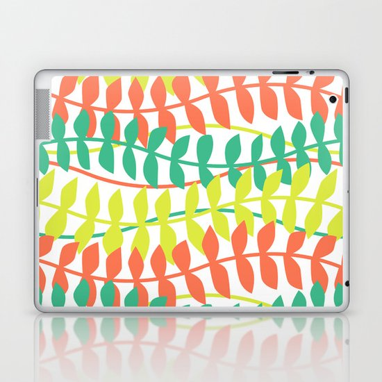 seagrass pattern - tropical Laptop & iPad Skin