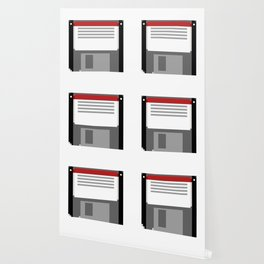 Pixel art floppy disk Wallpaper