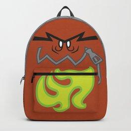 My backpack ate my homework (red grey) Backpack
