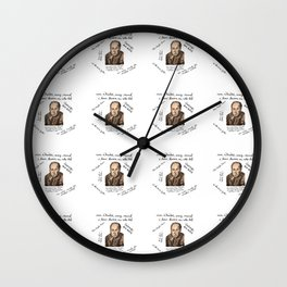 It's Clive O'clock Somewhere Wall Clock