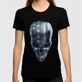 American Horror in Metal T-shirt