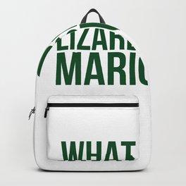 What Does A Lizard Smoke Mariguana Backpack