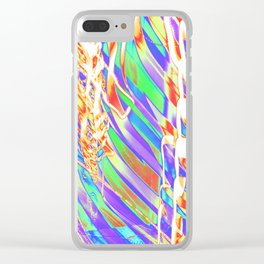Light Dance Carnival Ribs edit 2 Clear iPhone Case