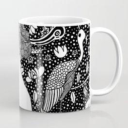 Lady with fan. Klimt. Coffee Mug