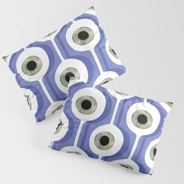 Eye Pod Purple Pillow Sham