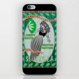 Slug Lady iPhone Skin