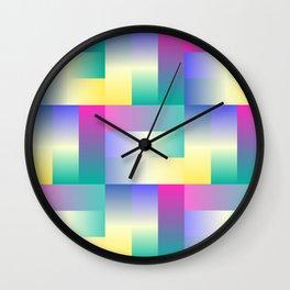 Maze Blur Wall Clock