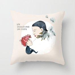 Spreading Ideas Throw Pillow