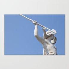 Halted Spear Canvas Print