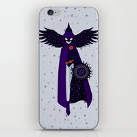 raven iPhone & iPod Skins featuring RAVEN by badOdds