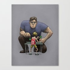 The Champion Canvas Print