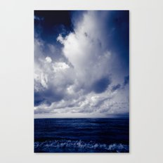 summer ver.blueblack Canvas Print