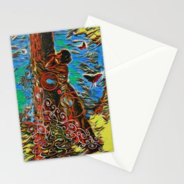 What Does The Tree Think Stationery Cards