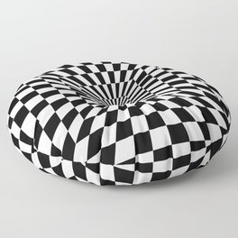 Optical Illusion Hallway Floor Pillow