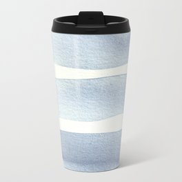 Minimalist Blue Travel Mug