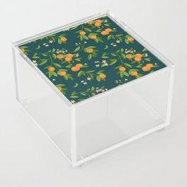 Citrus Tree - Navy Acrylic Box