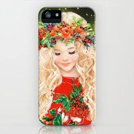 Little Merry iPhone Case