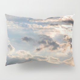 Among the Clouds - Sky Photography by Fluid Nature Pillow Sham