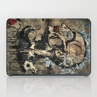 makeup iPad Cases featuring Genetic Makeup by constantinarts