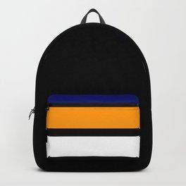 TEAM COLORS 2....navy, orange, white Backpack