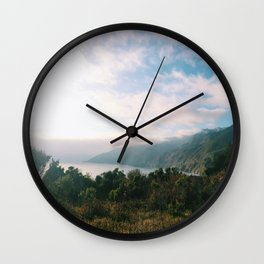 Kirk Creek, Big Sur Wall Clock