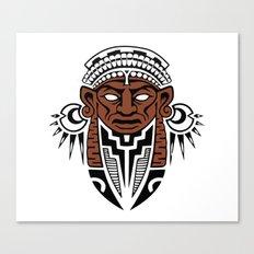 maschera messicana Canvas Print