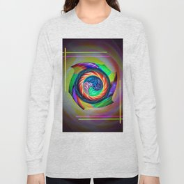 Abstract in perfection 121 Long Sleeve T-shirt