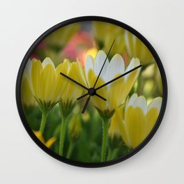 May Flowers For Mom Wall Clock
