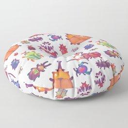Beetle - pastel Floor Pillow