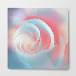 Rose flower and bokeh- Roses Metal Print