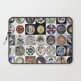 Picasso Ceramic Plates Laptop Sleeve