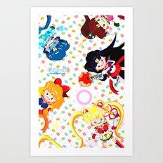 Sailor Bubbahs Art Print