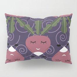 Cute radish Pillow Sham