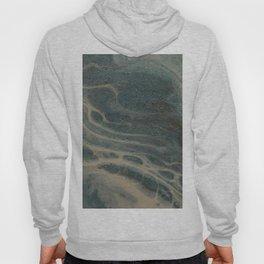White Rivers, Acrylic Pour Hoody
