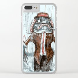 Uncle Fish Clear iPhone Case