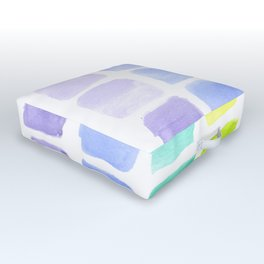 Squared Gradients Outdoor Floor Cushion