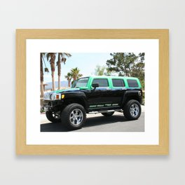 Green Envy Framed Art Print