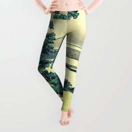 Crossing at Kina Leggings