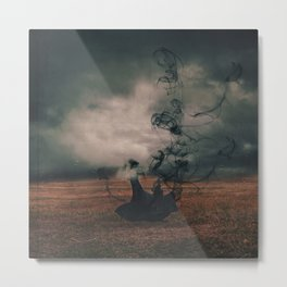 The Dissipate Metal Print