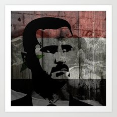 Heads of State: Bashar al-Assad Art Print