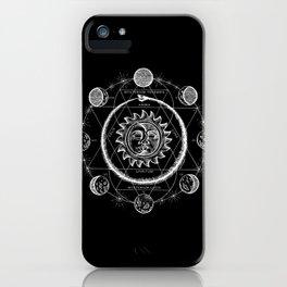 Boho Moon iPhone Case