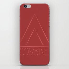Combine iPhone Skin