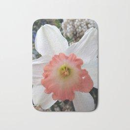 daffodil of unusual colors Bath Mat