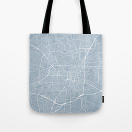 Greensboro Map, USA - Slate Tote Bag