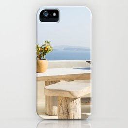 Santorini, Greece #society6 #decor #buyart iPhone Case