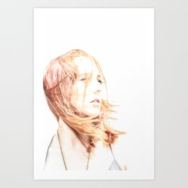 Soft Woman Art Print