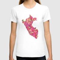 peru T-shirts featuring Peru by Ursula Rodgers