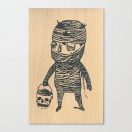 Mummyboy Canvas Print